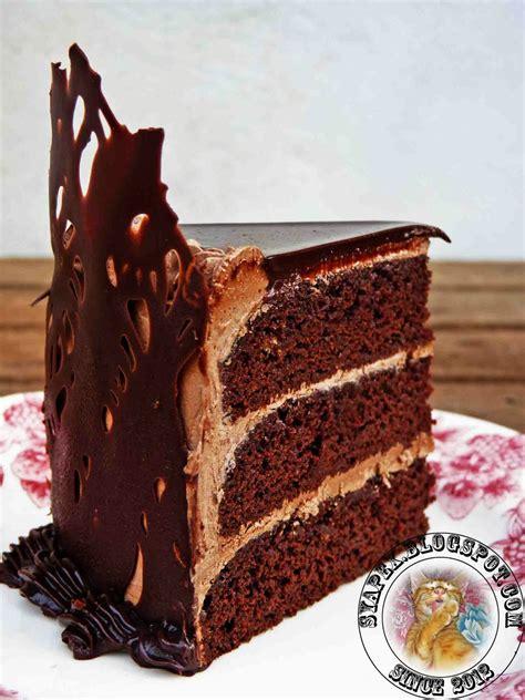 syapex kitchen kek coklat pisang