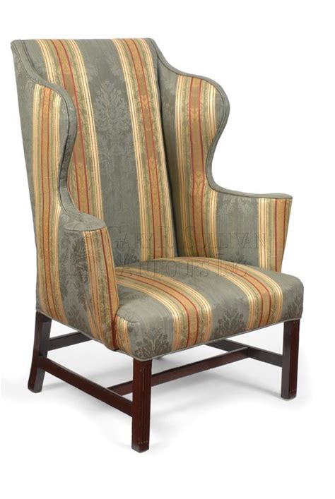 chippendale wing back chair circa 1760 80 furniture