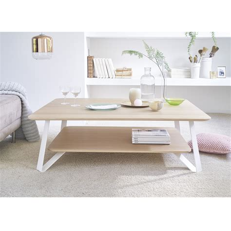 table bureau blanc the oak coffee table savelon meubles