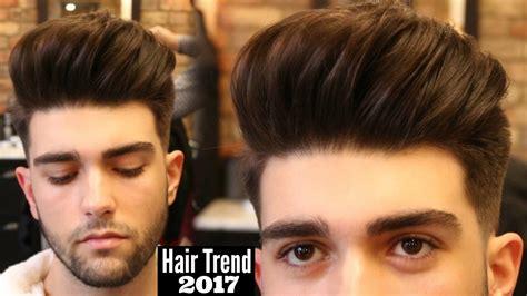 big volume quiff mens haircut hairstyle trend