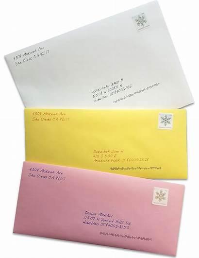 Envelope Envelopes Colored Letters Invitation Letter Unique