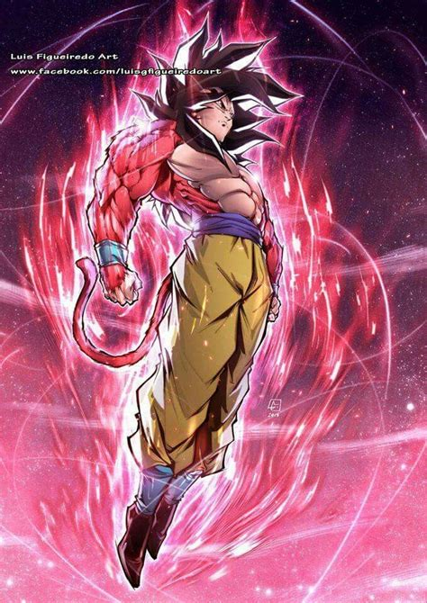 goku ssj luis figueiredo dragon ball artwork dragon