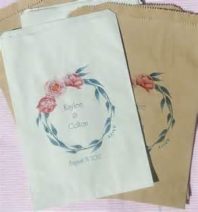 wedding favor bags wedding paper bags pink wedding favor bags bags wedding bags buffet