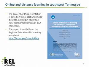 Online and Distance Learning in Southwest Tennessee ...