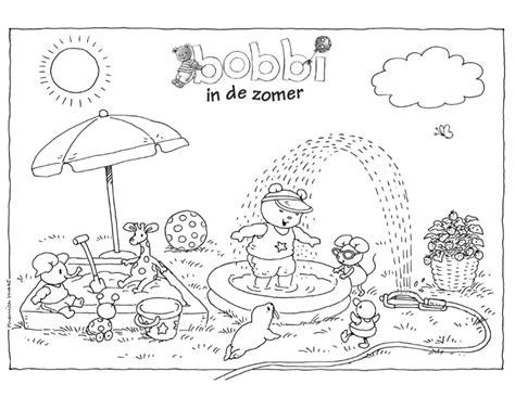 In De Zomer Minidisco Kleurplaten by Zomer Kleurplaat