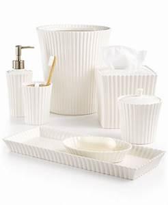 martha stewart collection ceramic scallop bath accessories With martha stewart bathroom accessories