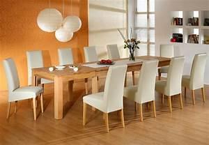 Esstisch Stühle Beige : tischgruppe kernbuche ausziehtisch allround xl 10 st hle robin beige wohnbereiche esszimmer ~ Markanthonyermac.com Haus und Dekorationen