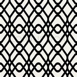 Abstract geometric background, black and white modern ...