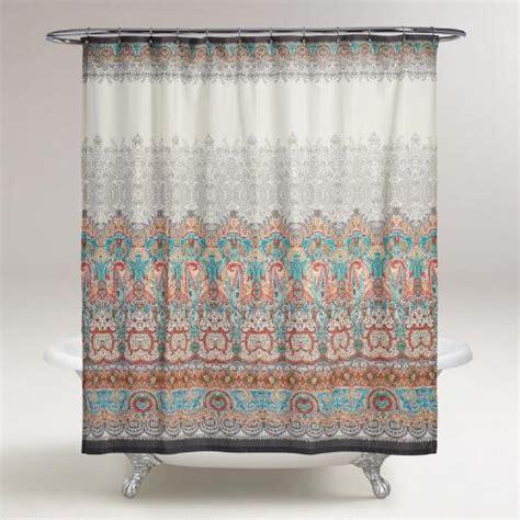 shower curtains world market pasha shower curtain world market