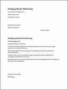 Kündigungsfrist Befristeter Mietvertrag : muster k ndigung kostenlose vorlagen ratgeber ~ Lizthompson.info Haus und Dekorationen