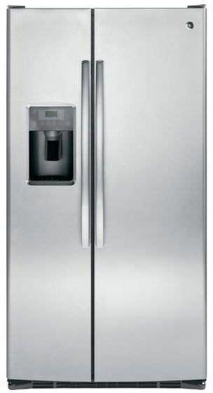 ge  cu ft side  side refrigerator gseg spencers tv appliances
