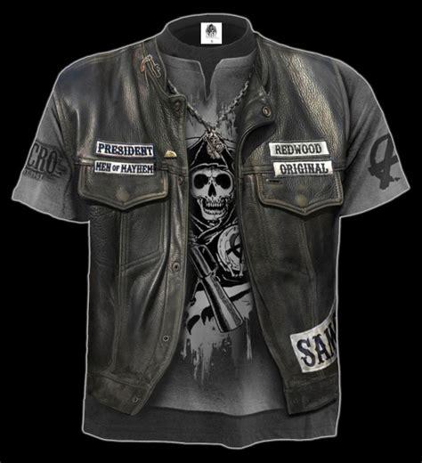 Sons Of Anarchy T Shirt Jax Kutte Spiral Www Figuren Shop De