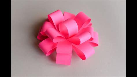 easy paper bow step  step papierowa