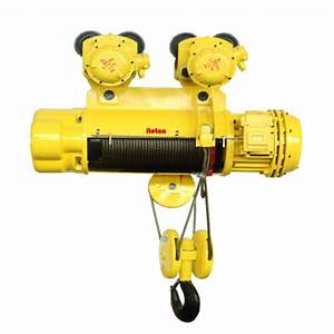 Explosion Proof Electric Wire Rope Hoist 5 Ton  U2013 Iteton