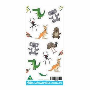 Aussie Animals Stickers Made in Australia – Bits of Australia