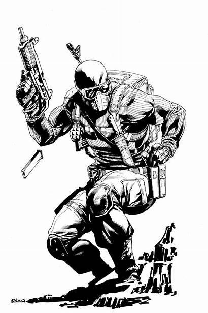 Snake Eyes Atkins Commando Robert Joe Comic