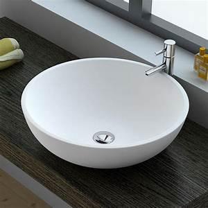 Dimension Vasque Salle De Bain : d couvrez notre nouvelle vasque ronde 3 dimensions ~ Nature-et-papiers.com Idées de Décoration