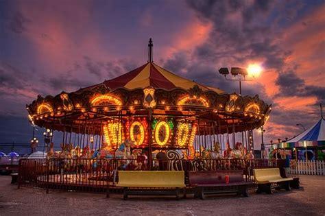 beautiful colorful carousel photography