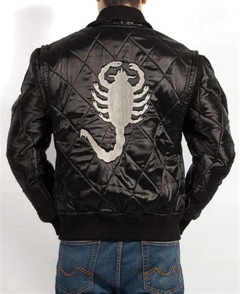 drive black jacket ryan gosling scorpion black jacket filmsjackets