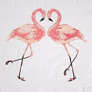 Flamingo Schwarz Weiß : miavilla bettw sche flamingo wei rosa 135 x 200 cm ~ Eleganceandgraceweddings.com Haus und Dekorationen