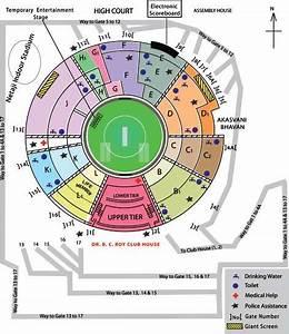 ICC T20 World Cup 2016: Eden Gardens seating arrangement ...