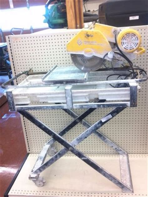Qep Tile Saw 60010 by Qep Model 60010 Tile Saw Espotted