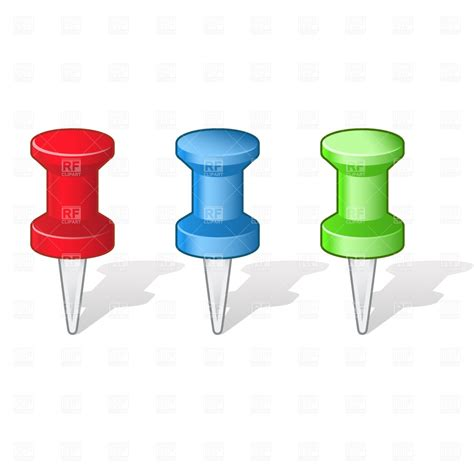 pushpins clipart clipground