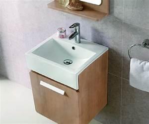 exemple meuble bas salle de bain 50 cm With meuble salle de bain 50 cm