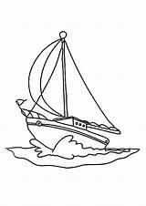 Boat Coloring Pages Sailboat Digital Speed Printable Fishing Stamps Boats Drawing Sailing Template Digi Sheets Row Sheet Google Splitcoaststampers Ship sketch template