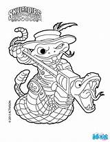 Skylanders Shake Coloring Trigger Happy sketch template