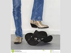 Boots Stomping Cowboy Hat Stock Images Image 3551054
