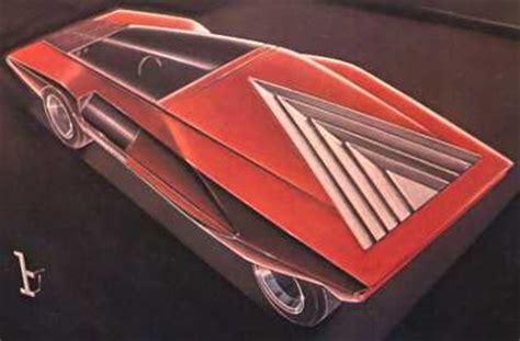 1970 Lancia Stratos Zero (Bertone) - Studios