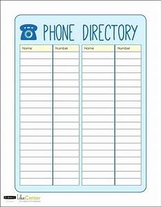 28 images of telephone contact list template crazybikernet With phonebook template