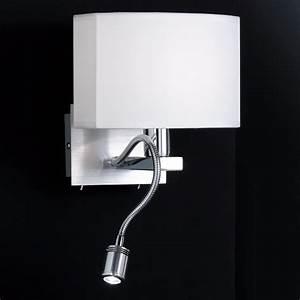 Wandlampe Mit Schalter Ikea : schmucke wandlampe mit separatem led leselicht ~ Watch28wear.com Haus und Dekorationen