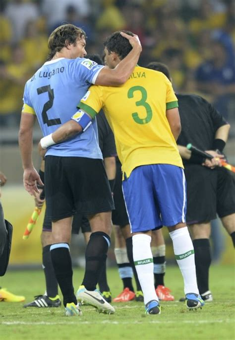 Brazil Soccer Confed Cup Brazil Uruguay | Who Ate all the Pies
