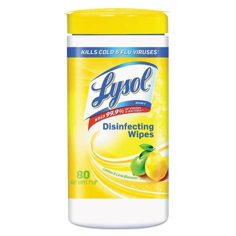 Shop Lysol Lemon and Lime Blossom Disinfecting Wet Wipes