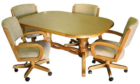 kitchen table with chairs on wheels swivel dining room chairs with casters kitchen table and