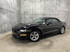 2018 Ford Mustang EcoBoost Convertible RWD for Sale in Sherbrooke, QC - CarGurus