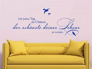 Der Schönste Tag : wandtattoo der sch nste tag von ~ Eleganceandgraceweddings.com Haus und Dekorationen