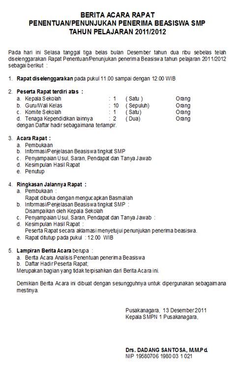 Berita Acara Kegiatan by Contoh Format Laporan Newhairstylesformen2014