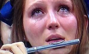 Crying Villanova Band Girl Becomes #PiccoloGirl, # ...