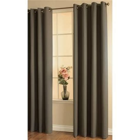 Thermalogic Curtains Home Depot by Thermalogic Darcy Insulated Curtain Brown 54 Inches X