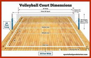 Volleyball Court Dimensions  Net Size And Height