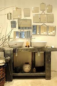 Meuble Salle De Bain Vintage : meuble original salle de bain ~ Teatrodelosmanantiales.com Idées de Décoration