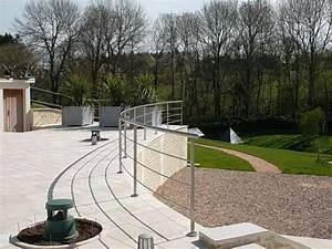 Garde Corps Terrasse Inox : 25 best ideas about garde corps inox on pinterest rampe escalier inox balustrade inox and ~ Melissatoandfro.com Idées de Décoration