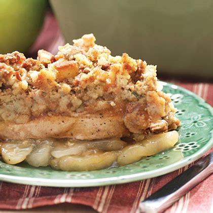 apple pork chop casserole recipe myrecipes