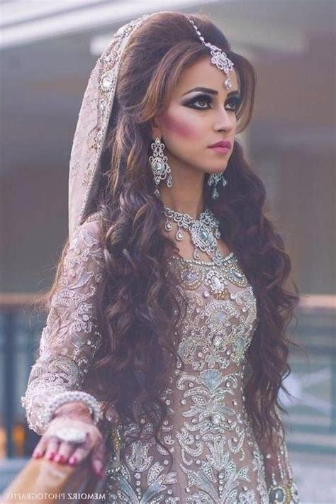 ideas  indian bridal long hairstyles