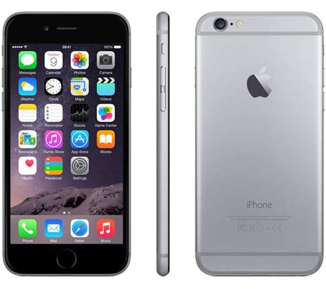 buy apple iphone 6 16 gb space grey free delivery