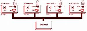 Setup Of Electronic Quiz Button Table