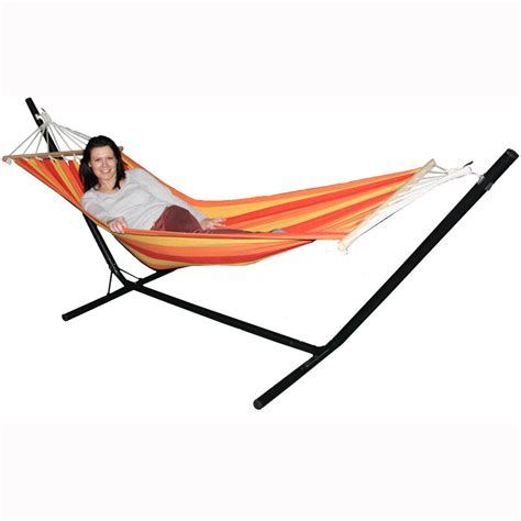 Hammocks With Stands by Hammock With Stand Garden Outdoor Lounger Swing Chair